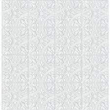 Scott Living 56.4-sq ft White Vinyl ...