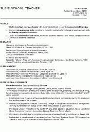 Student Teacher Resume Impressive Resume For Student Teaching Best Resume Collection