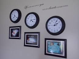 diy picture frame wall clock home décor baby pictures and clocks stopped at time of birth