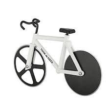 Bicycle Wheel Display Stand TOUR de PIZZA Bicycle Pizza Cutter with Display Stand Dual 100 47