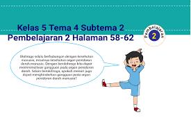 Subtema 1 cara tubuh mengolah udara bersih. Kunci Jawaban Kelas 5 Tema 4 Halaman 58 61 62 Buku Tematik Subtema 2 Gangguan Kesehatan Pada Organ Peredaran Darah Topiktrend