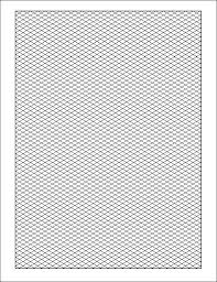 Isometric Graph Paper 12 Download Free Documents In Pdf