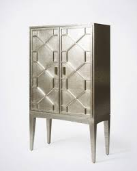 white metal furniture. Roxy Hammered White Metal Bar Cabinet Furniture E