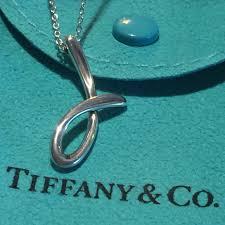 tiffany co j necklace elsa peretti authentic
