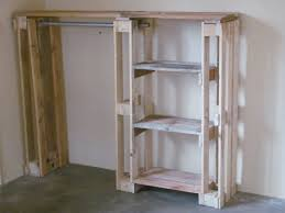 Shelves Made From Pallets Wardrobe Created Out Of Pallets Reneoliviercoza Pallet Ideas