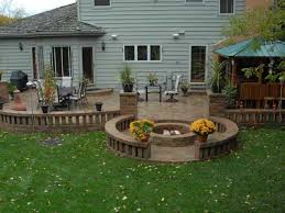 russels and old quarry prairie patio fire pit brick patios with fire e36 pit