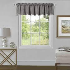Curtains for picture window Window Panels Wilmette 52 Wayfair Kitchen Bay Window Curtains Wayfair
