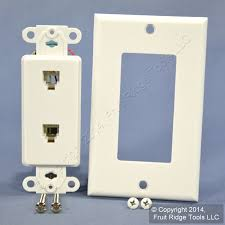 telephone cable wire diagram images leviton large white video cable catv phone jack wallplate cat5e 6 wire