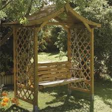 rowlinson dartmouth swing seat arbour