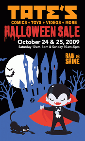 Tate S Comics Inc Halloween Sale Theme