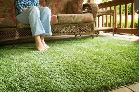 green victorian area rug