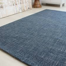 architecture and home captivating tweed rug on denim blue wool plain look land of