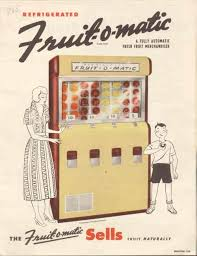 Fresh O Matic Vending Machines Adorable FruitOMatic Vending Machine