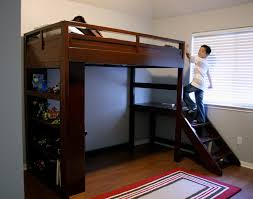 Awesome Raised Platform Bed With Stairs Images Inspiration ...