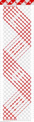 Heart Friendship Bracelet Pattern New Inspiration Design