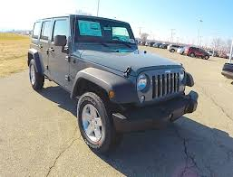 new 2018 jeep wrangler unlimited sport anvil grey jeep wrangler 17800 you