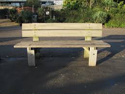 File:Street bench, Derry, September 2010.JPG