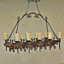 metal and wood chandelier. Zoom Metal And Wood Chandelier D