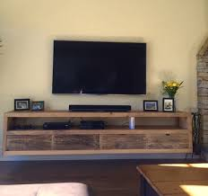 floating tv stand living room furniture. floating notched leg media console / tv stand by living room furniture b