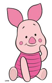 Image result for piglet, tiger, bunny, gopher from winnie the pooh