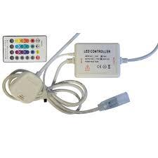 Music Controller for <b>220V LED</b> RGB Strip <b>5050</b> with remote