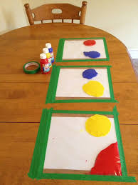 art and craft ideas for toddlers pinterest. paint in ziplock bags, taped to table. great distraction, no mess! - art and craft ideas for toddlers pinterest