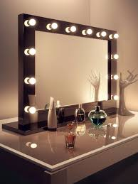 decor chic mirror with light bulbs for makeup needs