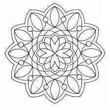 Mandala Disegno Da Colorare Gratis 1 Per Adulti Disegni Da