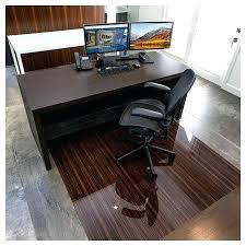 glass floor mat chair mats reviews with lip