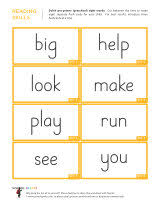 dolch primer dolch sight word flashcards school sparks