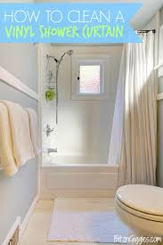 how to clean a vinyl shower curtain stop throwing away your grimy vinyl shower curtains