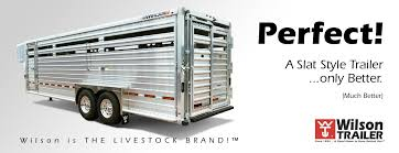 grain livestock flatbed gooseneck wilson trailer realize the quality and performance of wilson trailer