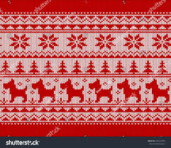 Christmas Pattern Sweater Custom Inspiration Design
