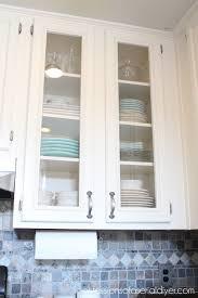 kitchen cabinet doors glass