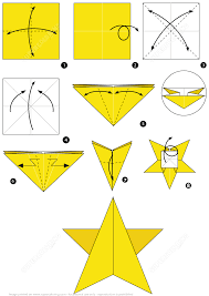 How To Make An Origami Star Instructions Free Printable