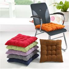 free suede fabric bench cushion chair car seat thickening mattress dining chair soft pad winter bottom mat quality in cushion from home garden on