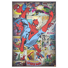 Meet all of spidey's deadly enemies, from the green goblin and doctor octopus to venom and carnage, plus see peter parker fall in love, face tragedy and triumph, and learn that with great power comes great responsibility. American Art Decor Licensed Marvel Amazing Spider Man Canvas Art Multi Color Overstock 26234438