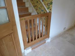 How To Fit A Wooden Stair Gate