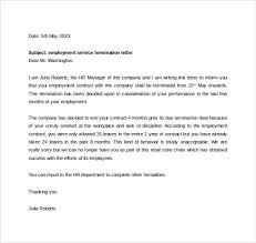 Free 14 Termination Letters Templates In Doc
