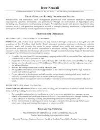 sample retail store manager resume ilivearticlesinfo retail store manager resume examples