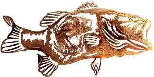 metal fish art wall decor wall art metal fish wall unusual ideas fishing wall decor in conjunction with poles and hunting gear kids room metal fish wall art