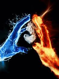 add this amazing fire and ice wallpaper to your collection and believe that you can make a difference does not matter how big or small you are