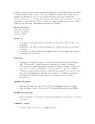 Resume In Word Format Enchanting Example Of A Dental Assistant Resume Assisting To Templates Template