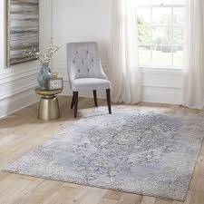 amelia am 02 light blue contemporary hall and stair runners by momeni rugs