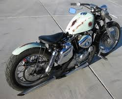 the distressed bobber 1978 harley ironhead bobber motorcycle in