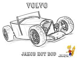 Small Picture Hot Rod Car Coloring Pages Printable Coloring pages for Adults