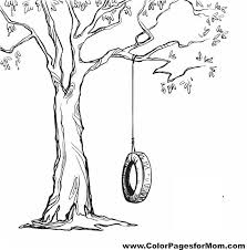 Small Picture Coloring Page Coloring Pages Trees Plants And Flowers Coloring