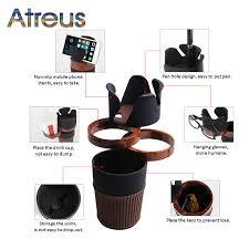 Atreus <b>Car Multifunctional</b> Drink Cup Holder Phone Holder For ...