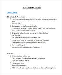 Office Cleaning Checklist Printable Tirevi Fontanacountryinn Com