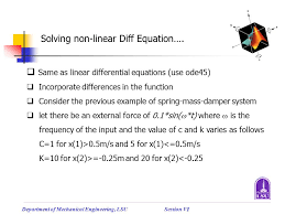 4 solving non linear diff equation